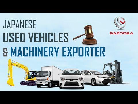 Gazooba LLC - Japanese Used Vehicles & Machinery Exporter