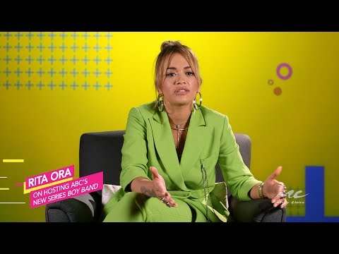 Rita Ora on Hosting ABC's