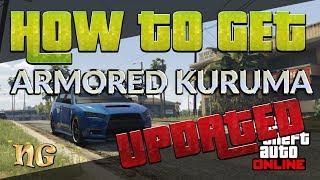 GTA 5 Online: How to get Kuruma Armored version UPDATED 2017
