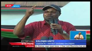 KTN Prime: Baringo Senator Gideon Moi dismisses claims of him dividing the rift region