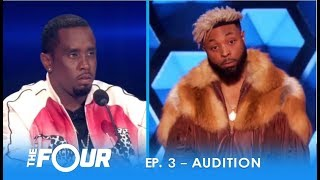 "Elijah Connor: ""Diddy"" Tests Confident Artist With EPIC STAREDOWN! 