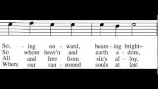 As with Gladness Men of Old - Tenor Only - Learn How to Sing Christmas Carols