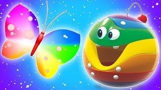 Butterfly Song | WonderBalls Cartoon | Nursery Rhymes for Toddlers by Cartoon Candy