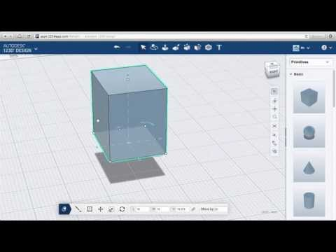 123D Design Online: The Manipulator