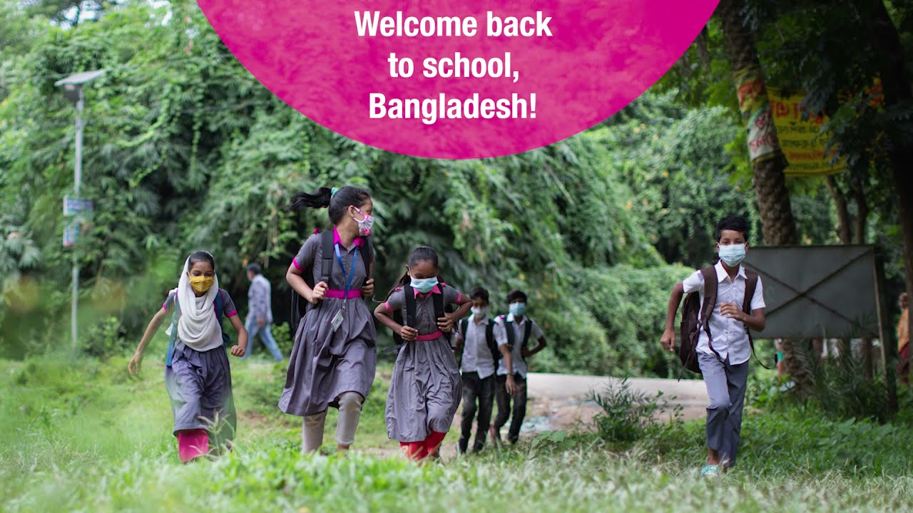 Video thubmnail: Welcome back to school, Bangladesh