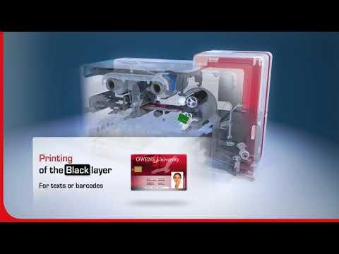 Video3D hur en direct to card kortskrivare fungerar