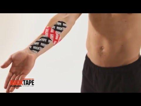 RockTape - Тейпирование запястья для уменьшения боли и поддержки гибкости