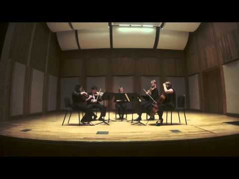 Brahms Clarinet Quintet, Third Movement.