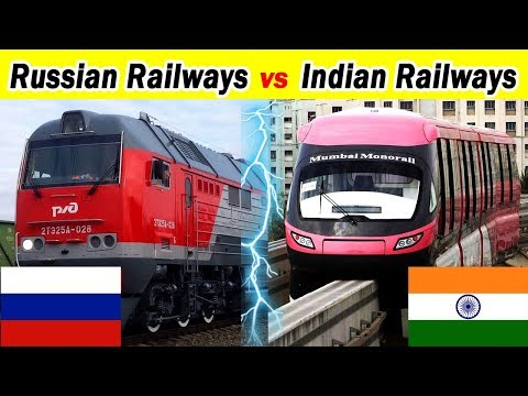 Indian railways vs Russian railways Complete Comparison