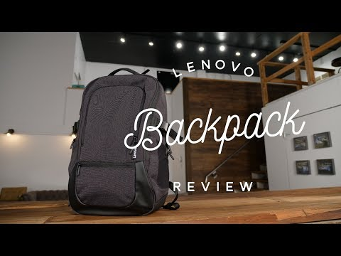 """Lenovo 17"""" Passage Backpack Review"""