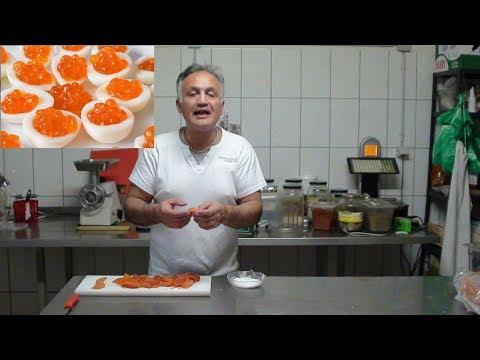 Firschrogen Kaviar selber herstellen einfach in 1 minute