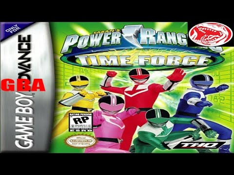 power rangers time force gba free download