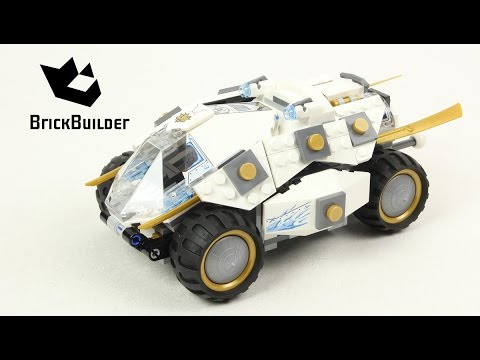 Lego Ninjago 70588 Titanium Ninja Tumbler - Lego Speed build