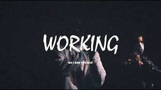 "CGM x Russ Type Beat ""Working""   UK Drill Instrumental 2018"