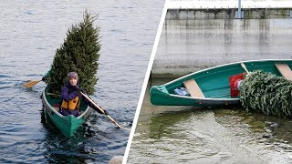 CAN YOU CANOE A CHRISTMAS TREE? (4K)
