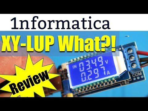 XY-LUP Combined Boost Buck Converter & Multifunction Meter Review