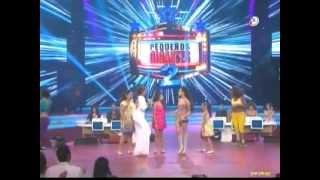 Danna Paola Cantando Ruleta en Pequeños Gigantes 2