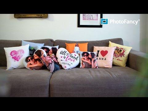 PhotoFancy - Fotokissen - Kissen mit Foto bedrucken