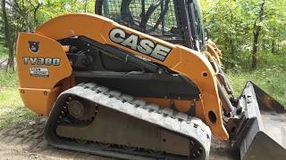 Skid-Lift: Activating Auxiliary Hydraulics on a Case TV380 Skid Steer