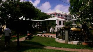 preview picture of video 'Par La Ville Park And The Perot Post Office, Bermuda, Hamilton'