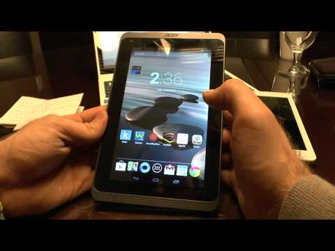 Acer Iconia B1-720 Hands On