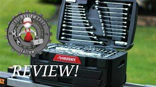 Husky Mechanics Tool Set REVIEW! 268 Piece Set (H268MTS)