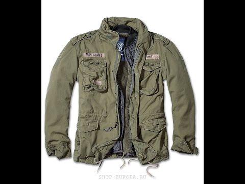 Обзор куртки Brandit M65 Giant