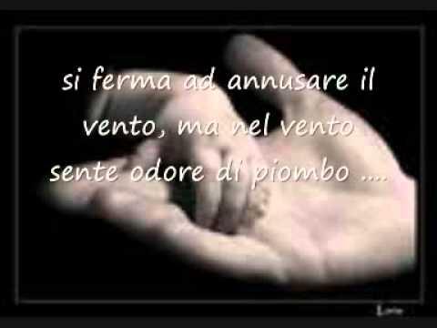 AGNELLO DI DIO - Francesco De Gregori - con TESTO