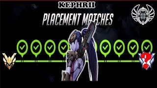 Kephrii Season 14 Placements Overwatch Pro