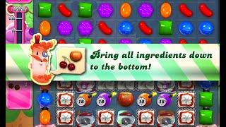 Candy Crush Saga Level 963 walkthrough (no boosters)