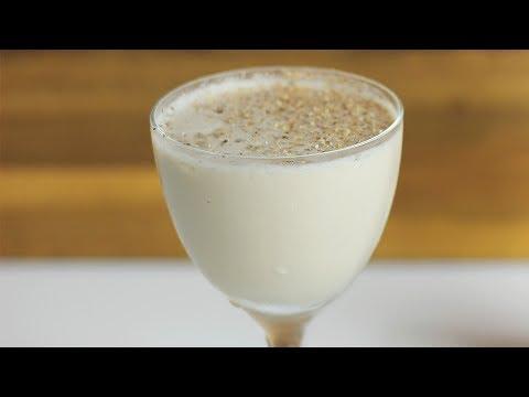 BRANDY ALEXANDER (using DIY Creme de Cacao!)