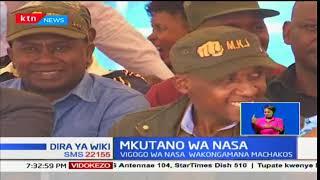 Wanasiasa wa muungano wa NASA waendelea kuhamasisha wananchi kwa uapishaji wa Raila na Kalonzo