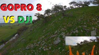 GOPRO 8 VS DJI FPV Cloudy Day