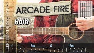 Arcade Fire - Haiti | guitar lesson