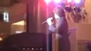JONATHAN BADON sings 'Cuando Me Enamoro' for Andrea Bocelli's Album Launching in Manila