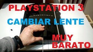Cambiar Lente PlayStation 3 PS3 Blue-Ray. Cual Comprar. Reparar Lector Que No Lee
