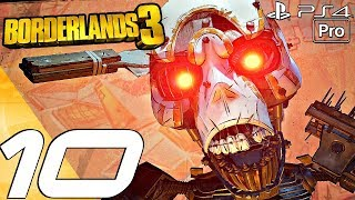 BORDERLANDS 3 - Gameplay Walkthrough Part 10 - Carnivora & Agonizer 9000 Boss (Full Game) PS4 PRO