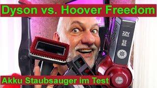 Dyson vs. Hoover Freedom Akku Staubsauger im Test - Einfach schön