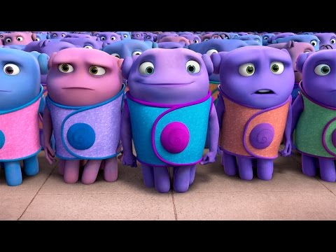 DreamWorks' HOME - Official Trailer 2 - INTL English