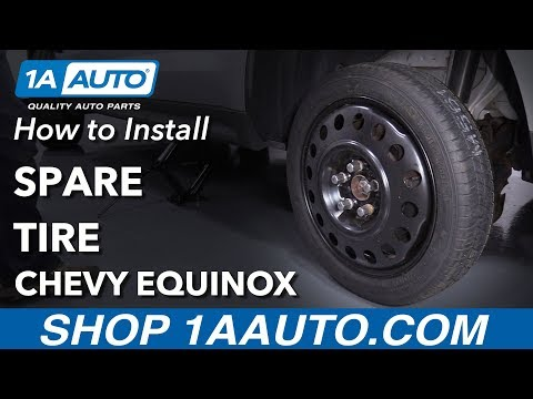 How to Change Spare Tire 10-17 Chevy Equinox