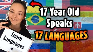 17 year old speaks 17 languages