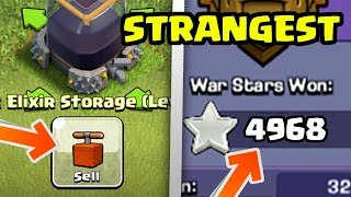 Top 6 STRANGEST Players In Clash of Clans (Rare & Creepy!)