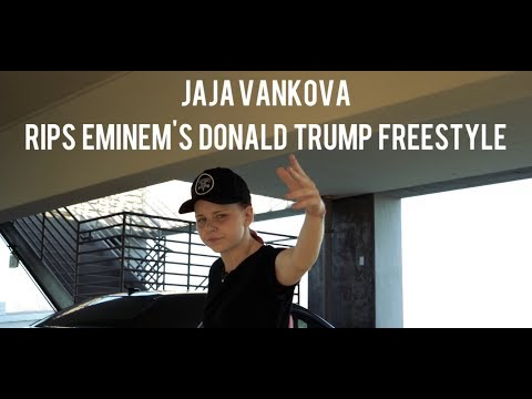 A Girl Rips Eminem's Donald Trump Diss Freestyle