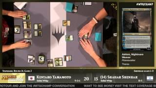 World Magic Cup 2014 Round 14 (Standard): Shahar Shenhar vs. Kentaro Yamamoto