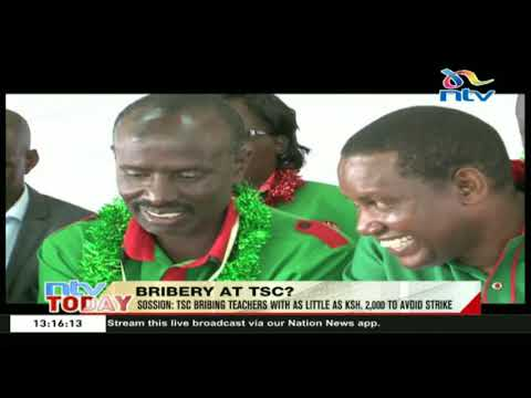 Wilson Sossion accuse the TSC for massive corruption and breach of law