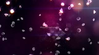 Diamond background stock video | diamond particles after effects | #Diamonds | Royalty Free Footages