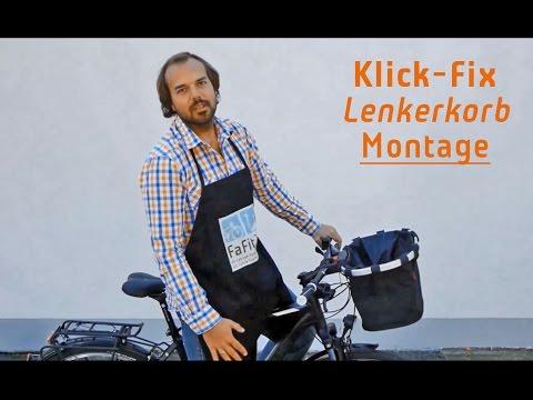 Klickfix Montage: So befestigst du deinen Lenkerkorb am Fahrrad