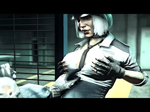 Dead Rising 3 - Hilde The Sexy Cop [Chapter 3 Final Boss]