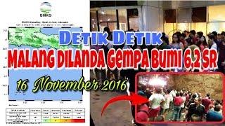 Malang Dilanda Gempa Bumi 62 SR  16 November 2016