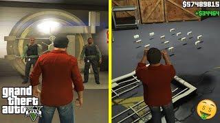 GTA 5 - I Entered The SECRET GOLDEN VAULT And Got UNLIMITED MONEY